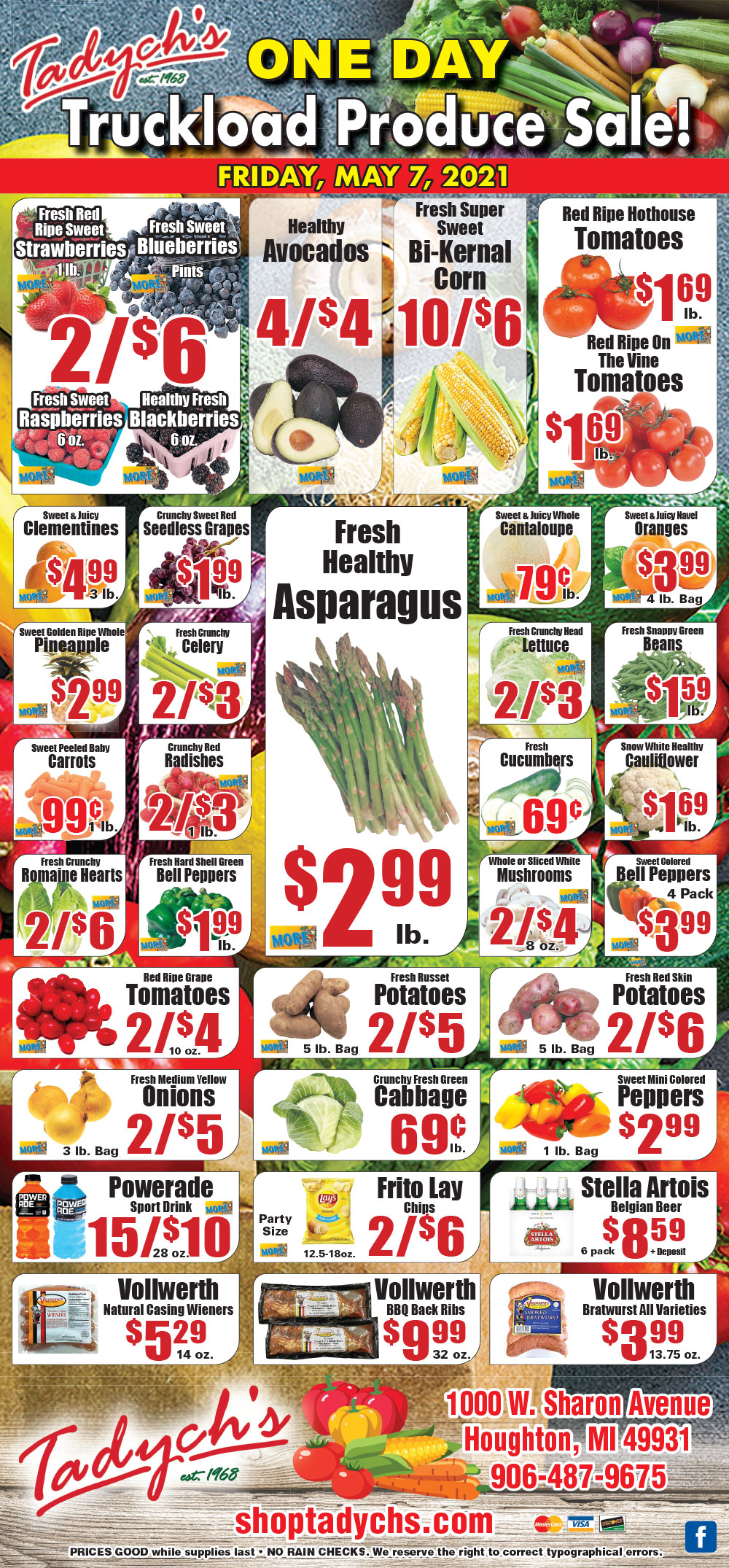 Houghton Truckload Produce Sale